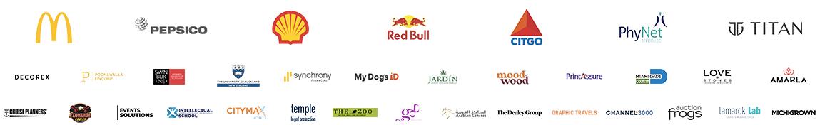 QR Code Generator Customers Brands